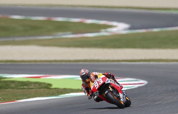 Испанский мотогонщик Марк Маркес из команды Хонда