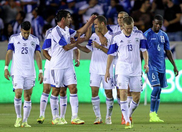 Футболисты сборной Израиля