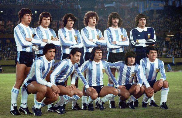 Футболисты сборной Аргентины, 1978 год