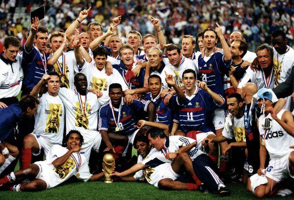 Футболисты сборной Франции, 1998 год