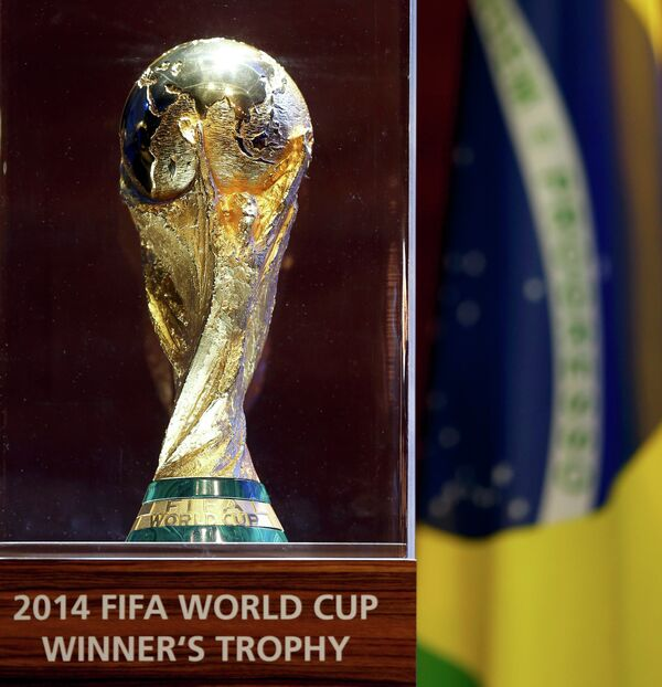 Трофей чемпионата мира по футболу в Бразилии