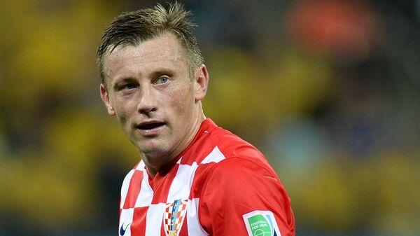 Нападающий сборной Хорватии Ивица Олич