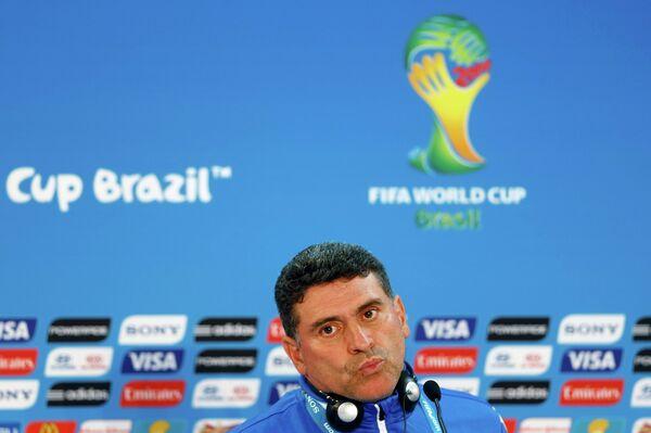 Главный тренер сборной Гондураса по футболу Луис Фернандо Суарес