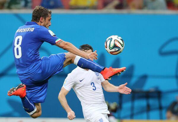 Футбол. Чемпионат мира - 2014. Матч Англия - Италия