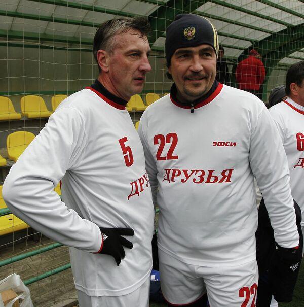 Дмитрий Кузнецов и Николай Писарев (слева направо)