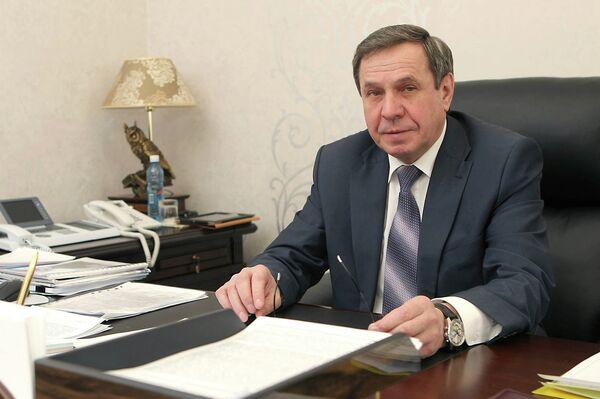 Вице-губернатор Новосибирской области Владимир Городецкий