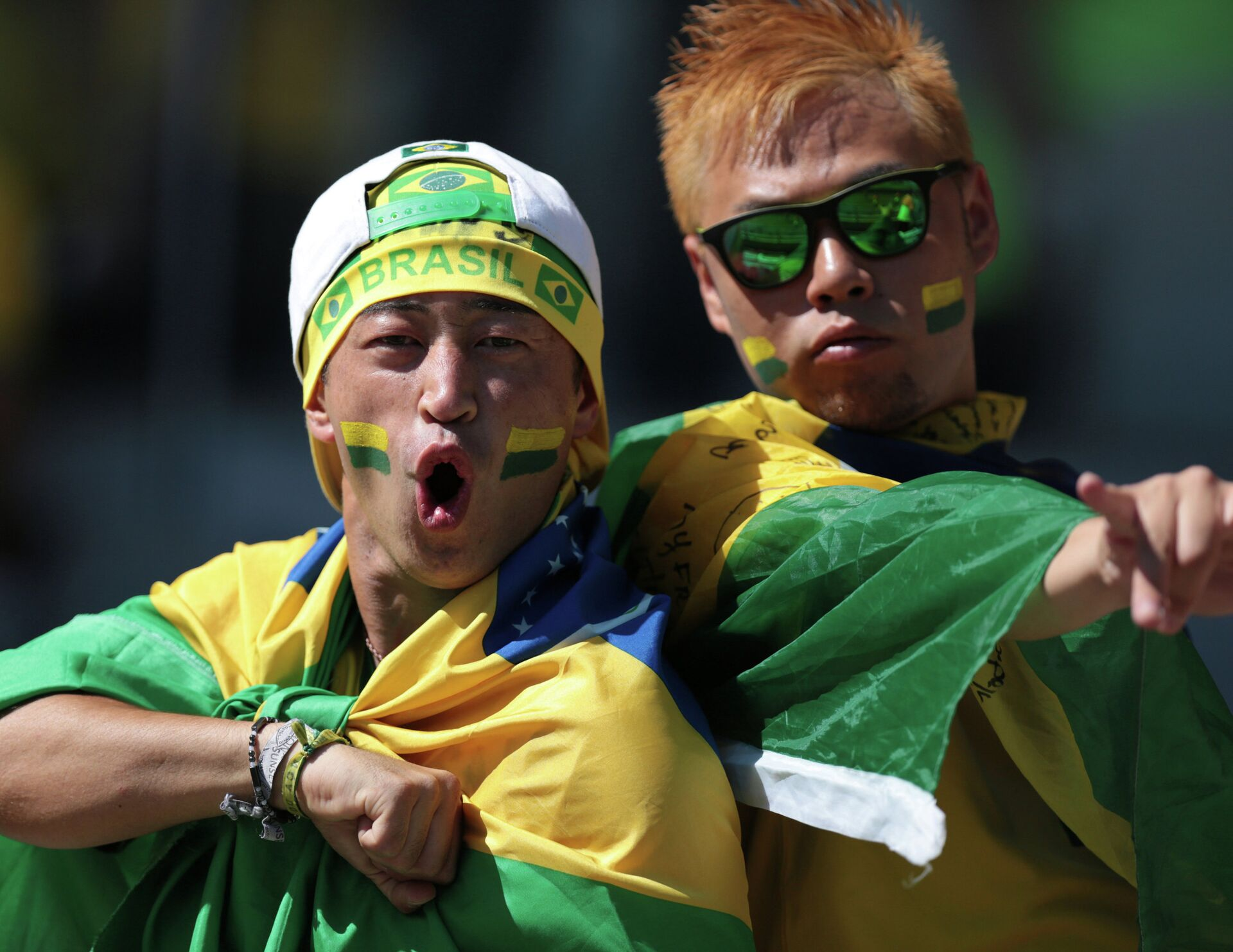 Болельщики сборной Бразилии. Матч Бразилия - Чили - РИА Новости, 1920, 09.04.2021
