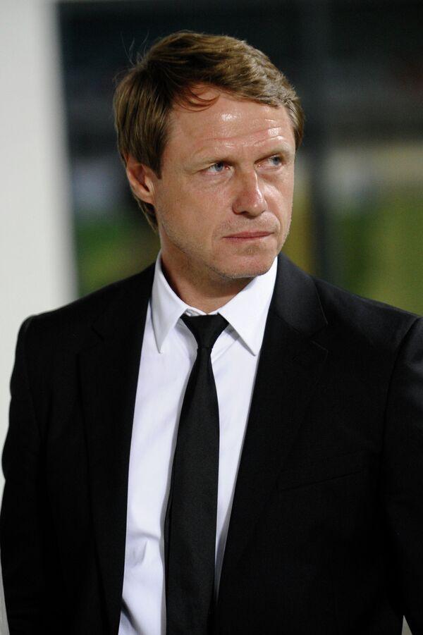 Главный тренер Краснодара Олег Кононов