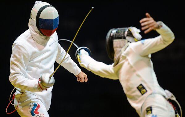 Сергей Ходос и Энрико Гароццо (справа)