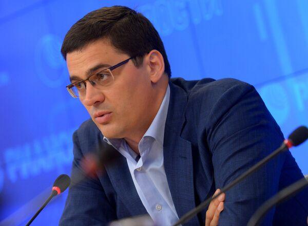 Глава Координационной комиссии по организации II летних юношеских Олимпийских игр в Нанкине, член Международного олимпийского комитета Александр Попов