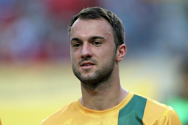 Футболист сборной Австралии Иван Франжич