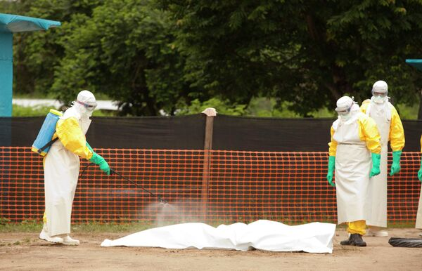 Лихорадка Эбола в Африке