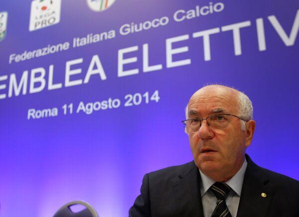 Карло Тавеккио избран новым президентом Федерации футбола Италии