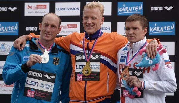Томас Лурц, Ферри Виртман, Евгений Дратцев (слева направо)