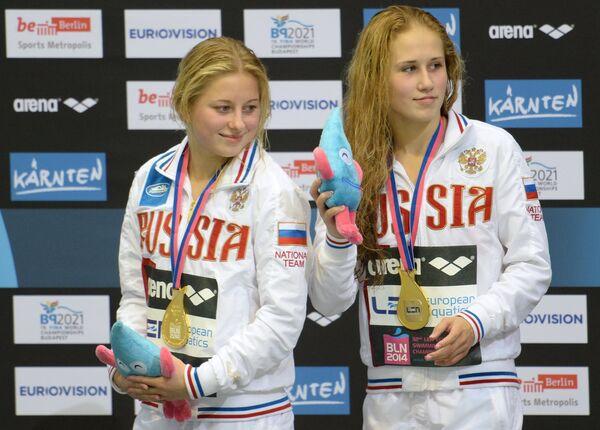 Екатерина Петухова и Юлия Тимошина