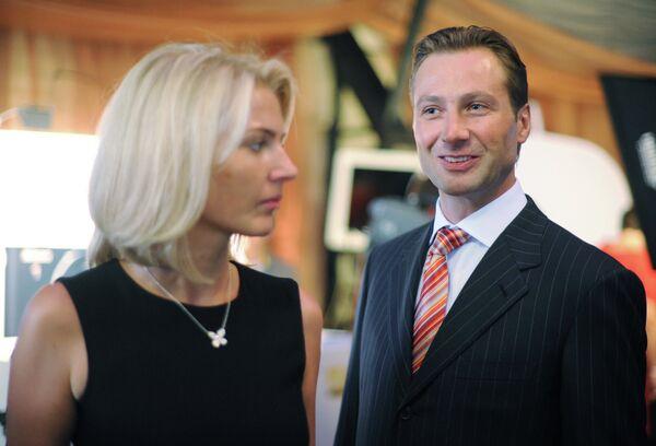 Алексей Морозов с супругой Ириной