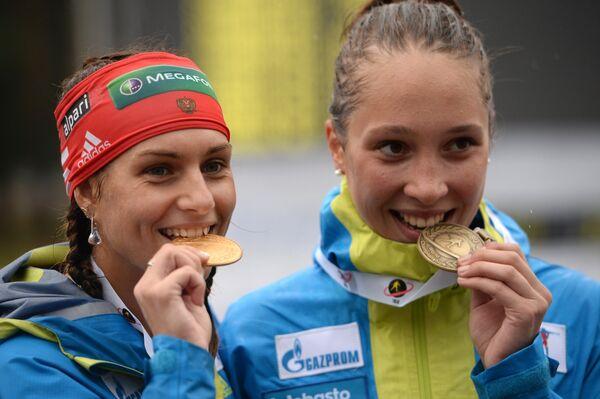 Кристина Ильченко и Ульяна Кайшева (слева направо)