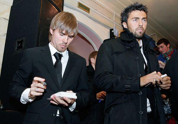 Дмитрий Торбинский и Марко Баша (слева направо)