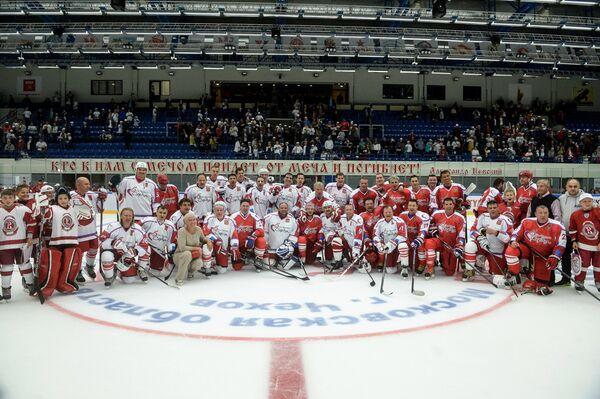 Хоккей. Благотворительный матч От чистого сердца