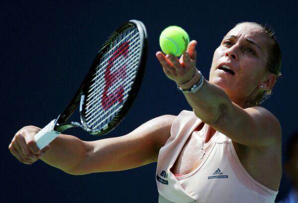 Флавиа Пеннетта на US Open