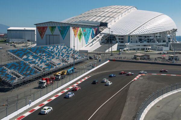 Чемпионат России по кольцевым гонкам - первые соревнования, проходящие на трассе Сочи Автодром