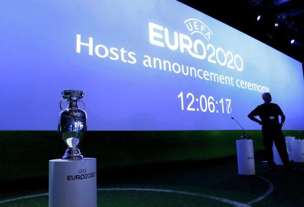 Церемония объявления городов, которые примут матчи Евро-2020