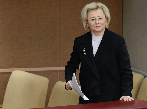 Заместитель министра спорта РФ Наталья Паршикова