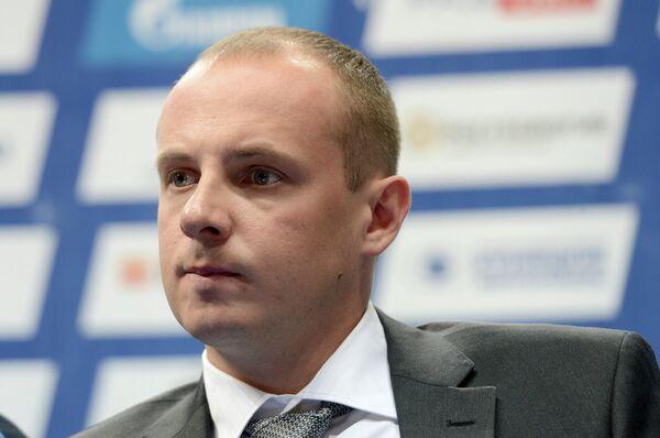 Спортивный директор ВК Динамо (Москва) Андрей Секретарев