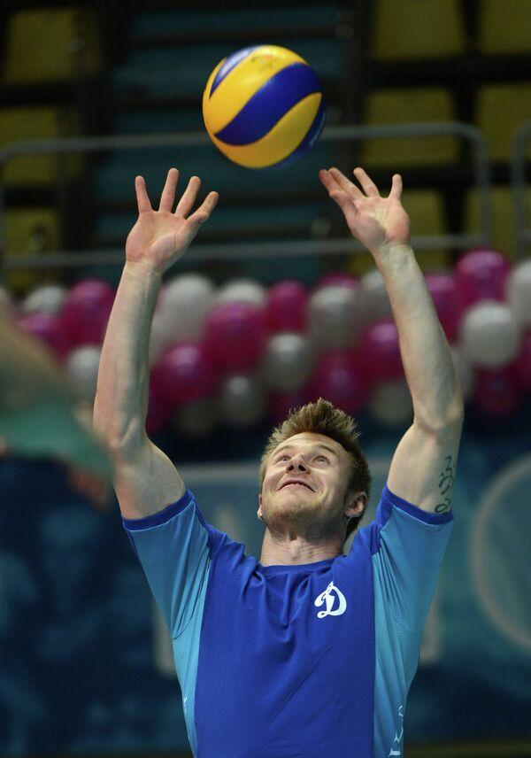 Волейболист Динамо (Москва) Иван Зайцев