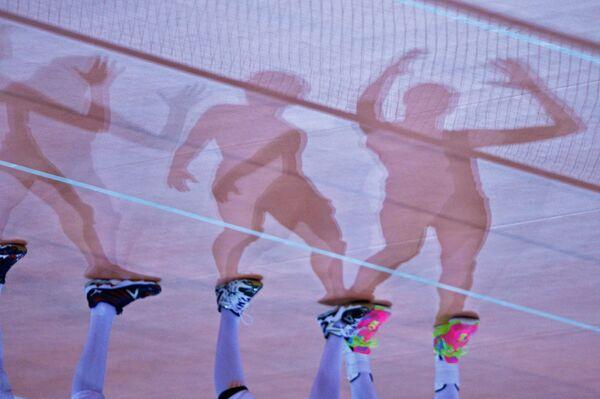 Российские волейболистки