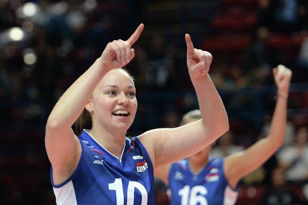 Связующая сборной России Екатерина Панкова