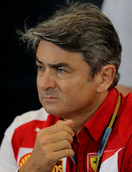 Руководитель команды Феррари Марко Маттиаччи