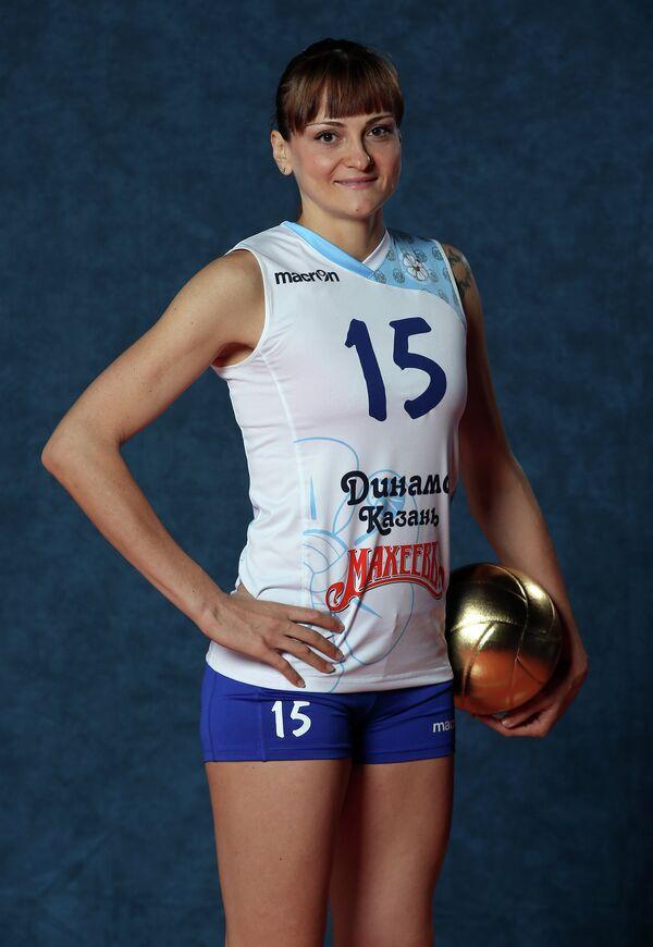 Доигровщица казанского Динамо Антонелла Дель Коре