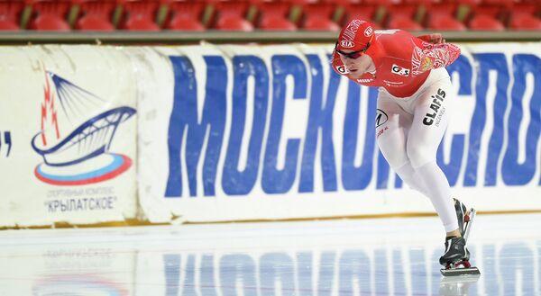 Конькобежный спорт. Сергей Грязцов