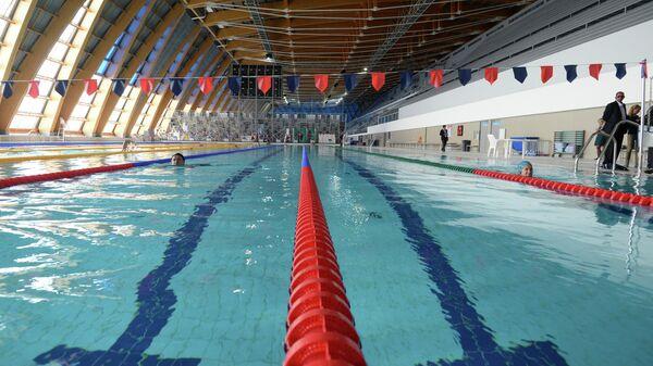 Бассейн Дворца водных видов спорта в Казани