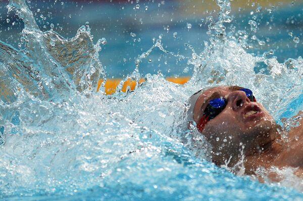 Плавание.Станислав Донец