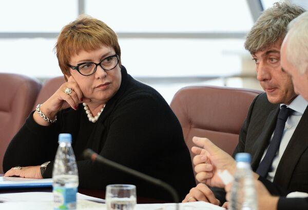 Президент ФК Локомотив (Москва) Ольга Смородская