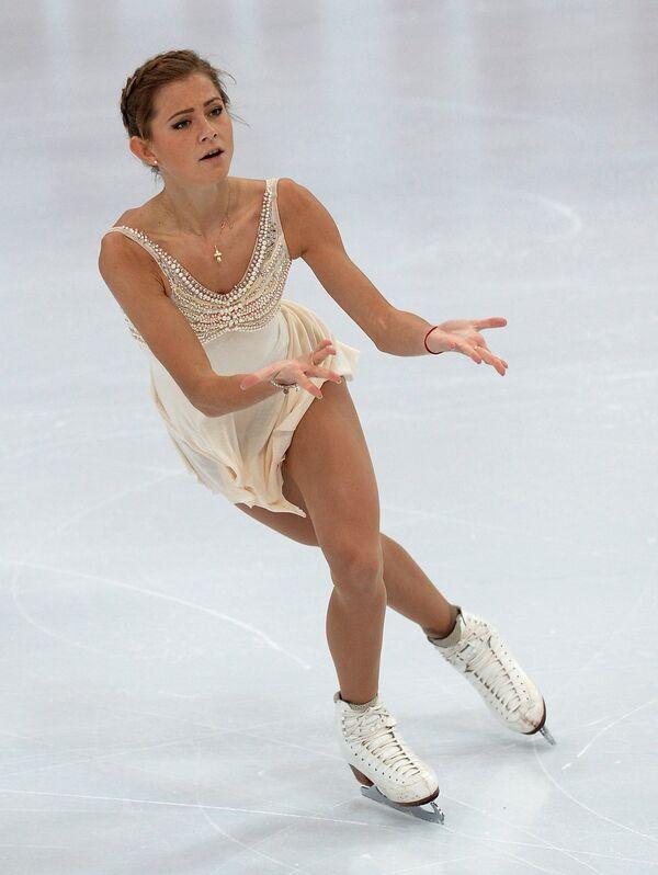 Российская фигуристка Мария Артемьева
