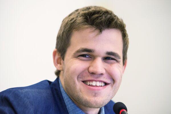 Шахматист Магнус Карлсен