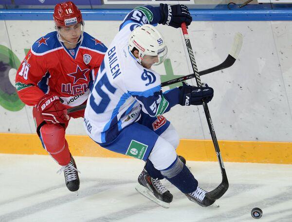 Ник Бэйлен (справа) и Дамир Жафяров