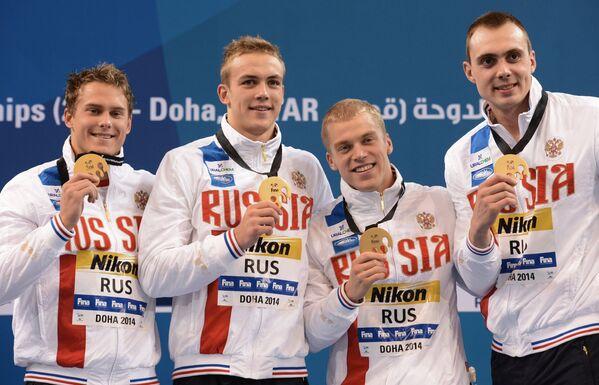 Владимир Морозов, Евгений Седов, Олег Тихобаев и Сергей Фесиков