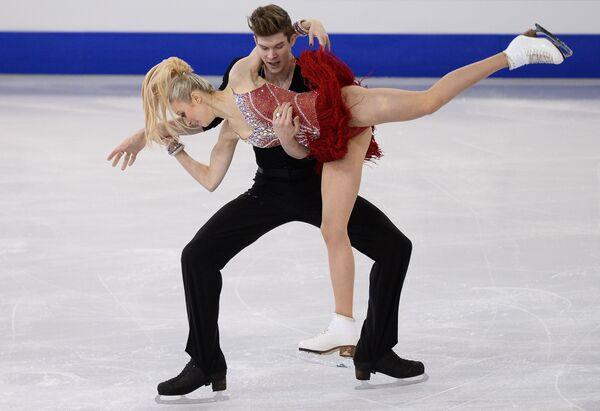 Фигурное катание. Анна Яновская и Сергей Мозгов (Россия)