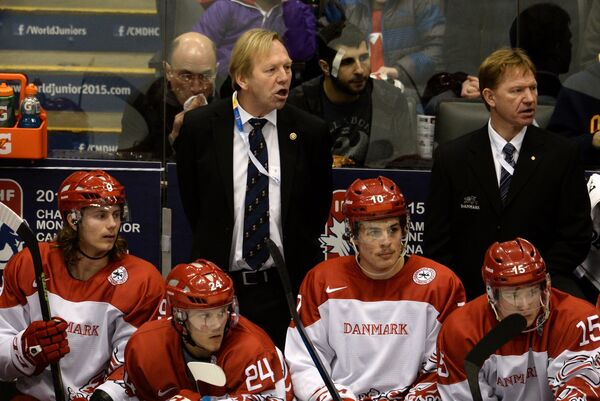 Главный тренер молодежной сборной Дании Олаф Эллер