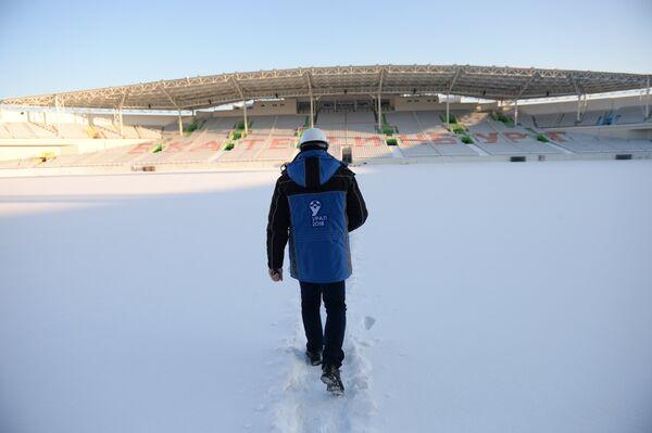 Реконструкция стадиона Центральный в Екатеринбурге