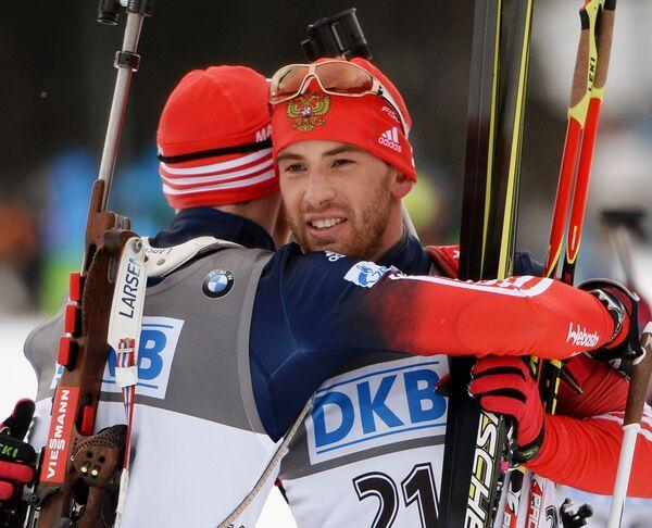 Дмитрий Малышко (справа)