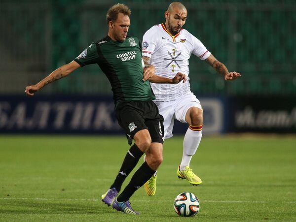 Андреас Гранквист (слева) и Максим Вотинов