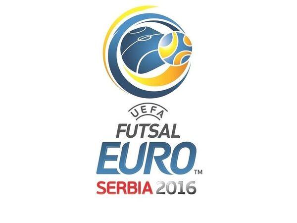 Логотип чемпионата Европы-2016 по мини-футболу