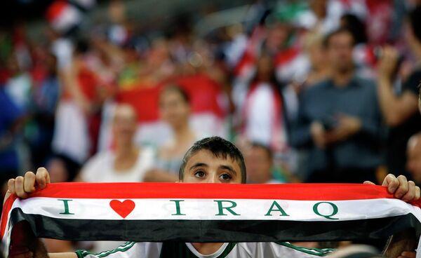Болельщик сборной Ирака