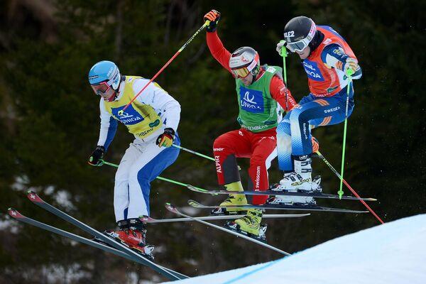 Сергей Ридзик (Россия), Армин Нидерер (Швейцария) и Олинг Норберг Виктор (Швеция) (слева направо)
