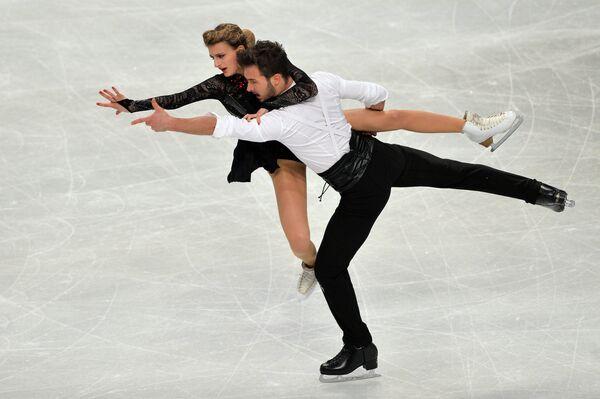 Габриэла Пападакис и Гийом Сизерон (Франция)